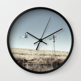 Dustoff downunder - Villenvue, QLD Wall Clock