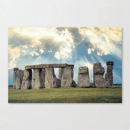 Stonehenge V Canvas Print
