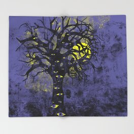 The Vision Tree Throw Blanket