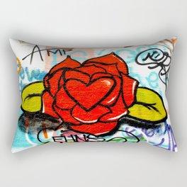 rose/heart graffitti Rectangular Pillow