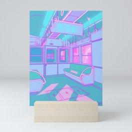 Train to Tokyo Mini Art Print