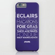 Paris — Delicious City Prints iPhone 6s Slim Case