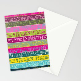 Egyptian hieroglyphs No2 Stationery Cards