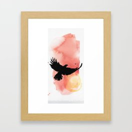 Eagle Solstice Framed Art Print
