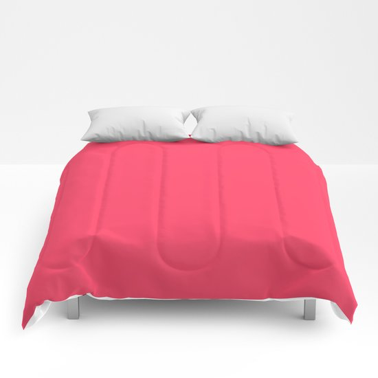 Sugar Heart (Pink) Color Comforters