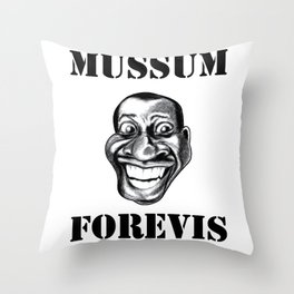 Mussum Forevis Throw Pillow