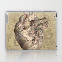 adventure heart-world map 3 Laptop & iPad Skin