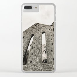 The Rock of Cashel Clear iPhone Case