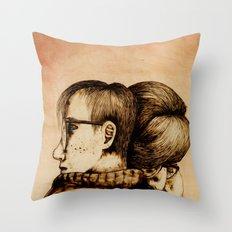 Morning Support Throw Pillow