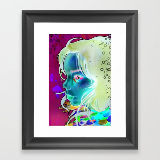 Volta Framed Art Print