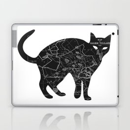 A Familiar Black Cat Laptop & iPad Skin
