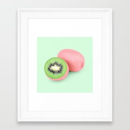 PINKIWI Framed Art Print