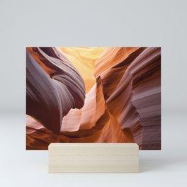 Antelope Canyon Sandstone Slot Mini Art Print