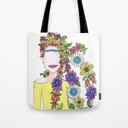 Eighties Girl Tote Bag
