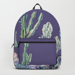 Desert Gemstone Oasis Purple Backpack