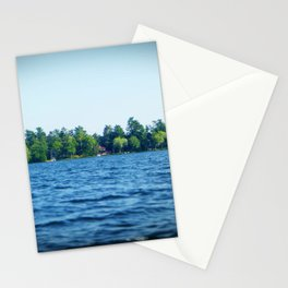 Lake Water View Color Photo Stationery Cards