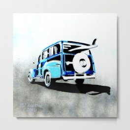 Woodys surf carrier Metal Print