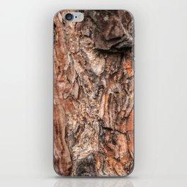 Pine tree bark texture iPhone Skin