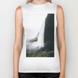Waterfall II / Seljalandsfoss, Iceland Biker Tank
