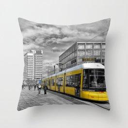 Berlin Alexanderplatz II Throw Pillow
