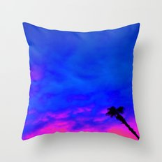 Under the Palm Throw Pillow