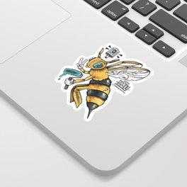 Peace BEE Sticker