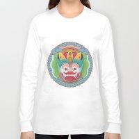bali Long Sleeve T-shirts featuring Bali Monstah 2 by malobi