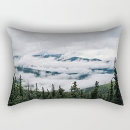 Cloud Flow Rectangular Pillow