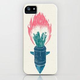 Brush Bomb iPhone Case