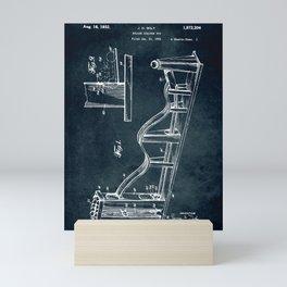 Roller Coaster toy Mini Art Print