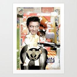 COLLAGE: PElvis Art Print