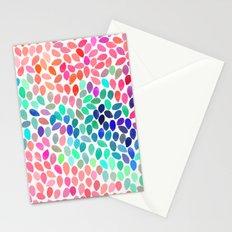 rain 12 Stationery Cards