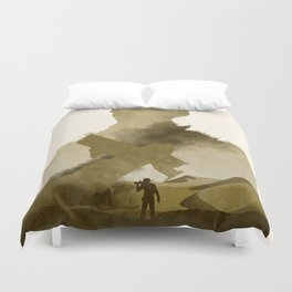 Uncharted 3 Duvet Cover