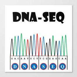 Sangerism - DNA-seq Canvas Print