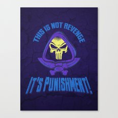 This Time It's Punishment Canvas Print