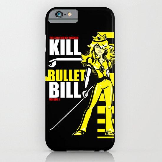 Kill Bullet Bill (Black/Yellow Variant) iPhone & iPod Case