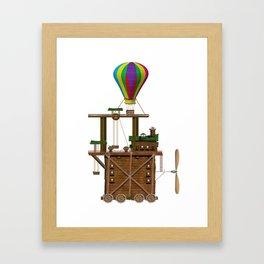The Balloon Launcher Framed Art Print