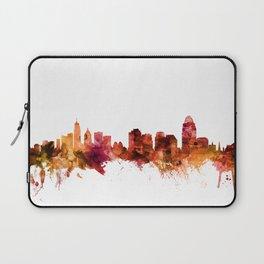 Cincinnati Ohio Skyline Laptop Sleeve