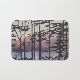 Forest on the River Bath Mat