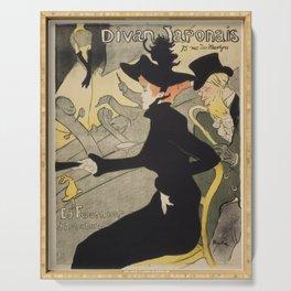 Divan Japonais - Henri de Toulouse Lautrec Serving Tray