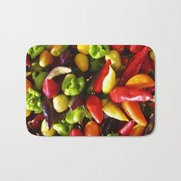 Chili Pepper Luck charm Bath Mat