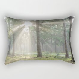 Into the wild forest - North Kessock, Highlands, Scotland Rectangular Pillow
