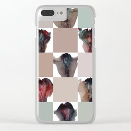 Ashley Lane's Vagina Quilt Clear iPhone Case