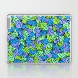 Green Waves Laptop & iPad Skin