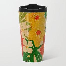 Limahuli Garden Hawaiian Floral Design Travel Mug