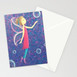 Pink Fairy Stationery Cards