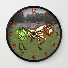 Celtic Knot Horse Wall Clock