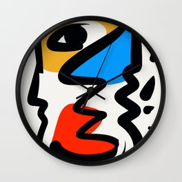P was in my head ??? Wall Clock