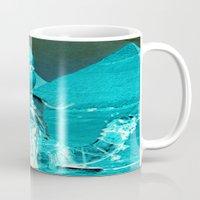 desert Mugs featuring Desert by Jon Duci