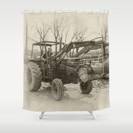 Old Massey 185  Shower Curtain